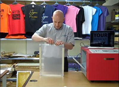 Цифровой принтер GOCCOPRO 100 для изготовления трафаретных печатных форм